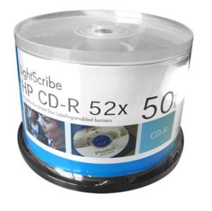 CD-R HP LIGHTSCRIBE 700MB-80min Versão 1.2