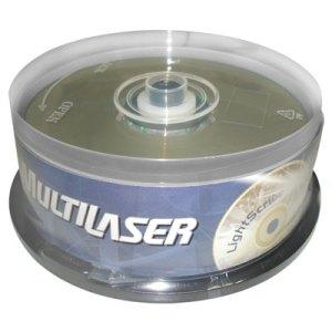 CD-R MULTILASER LIGHTSCRIBE 52X