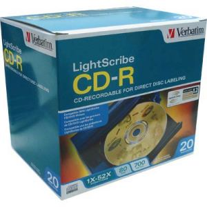 CD-R Verbatim LightScribe NO BOX